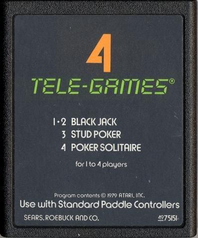 Atari 2600 Poker Plus