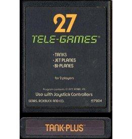 Atari 2600 Tank Plus Tele-Games