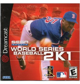Sega Dreamcast World Series Baseball 2K1