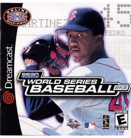 Sega Dreamcast World Series Baseball 2K2