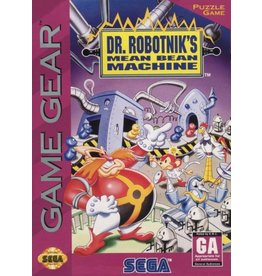 Sega Game Gear Dr Robotnik's Mean Bean Machine