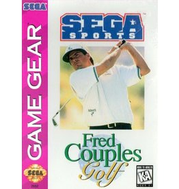 Sega Game Gear Fred Couples Golf