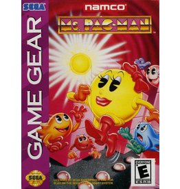 Sega Game Gear Ms Pac Man