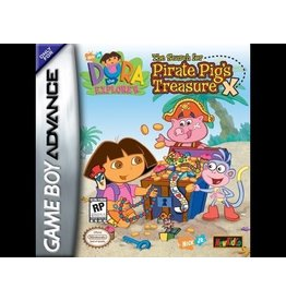 Gameboy Advance Dora the Explorer: The Hunt for Pirate Pig's Treasure