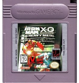 Gameboy Iron Man/X-O Manowar in Heavy Metal