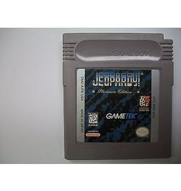 Gameboy Jeopardy Platinum Edition