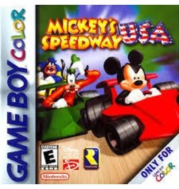 Gameboy Color Mickey's Speedway