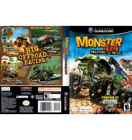 Nintendo Gamecube Monster 4x4 Masters of Metal