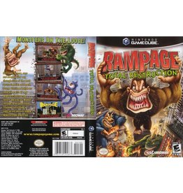 Nintendo Gamecube Rampage Total Destruction