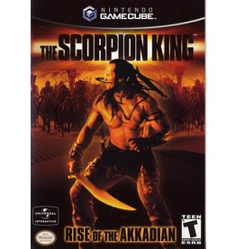 Nintendo Gamecube The Scorpion King Rise of the Akkadian