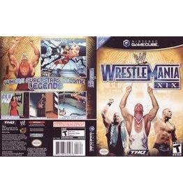 Nintendo Gamecube WWE Wrestlemania XIX