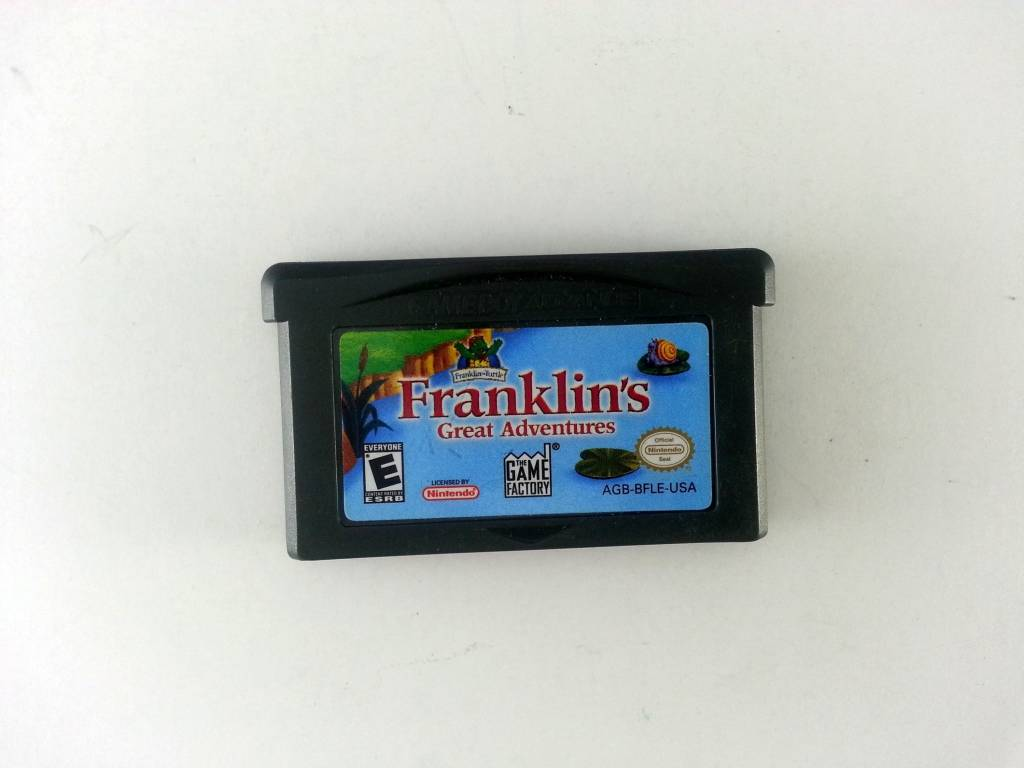 Gameboy Advance Franklin The Turtle