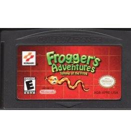 Gameboy Advance Froggers Adventures Temple of Frog