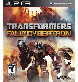Playstation 3 Transformers: Fall Of Cybertron