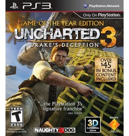 Playstation 3 Uncharted 3 Game of the Year Edition