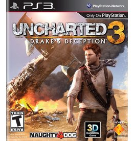 Sony Playstation 3 (PS3) Uncharted 3: Drake's Deception