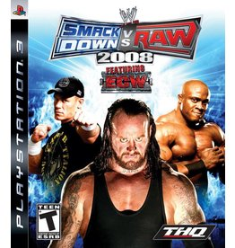 Sony Playstation 3 (PS3) WWE Smackdown vs. Raw 2008