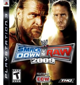 Playstation 3 WWE SmackDown vs. Raw 2009