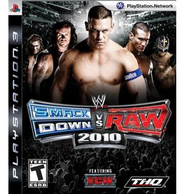 Sony Playstation 3 (PS3) WWE SmackDown vs. Raw 2010