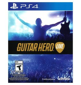 Playstation 4 Guitar Hero Live (Game Only)