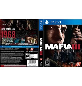 Sony Playstation 4 (PS4) Mafia III