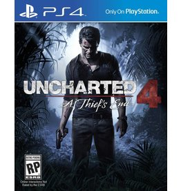 Playstation 4 Uncharted 4 A Thief's End