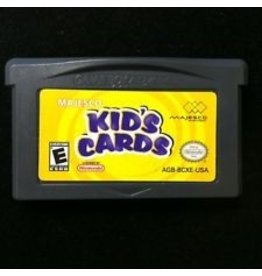 Gameboy Advance Kid's Cards
