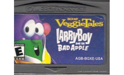 Nintendo Gameboy Advance VeggieTales: LarryBoy and the Bad Apple