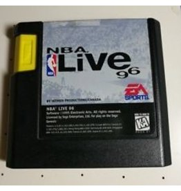 Sega Genesis NBA Live 96
