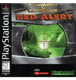 Playstation 1 Command and Conquer Red Alert
