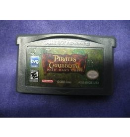 Gameboy Advance Pirates of the Caribbean Dead Mans Chest