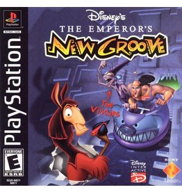 Playstation 1 Emperor's New Groove