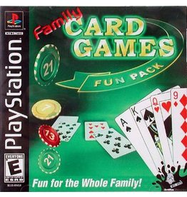 Playstation 1 Family Card Games Fun Pack
