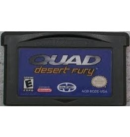Gameboy Advance Quad Desert Fury