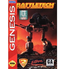 Sega Genesis Battletech