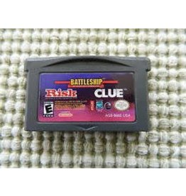 Nintendo Gameboy Advance Risk / Battleship / Clue