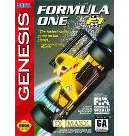 Sega Genesis Formula One- F1