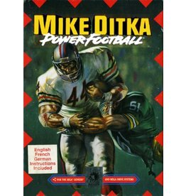 Sega Genesis Mike Ditka Power Football