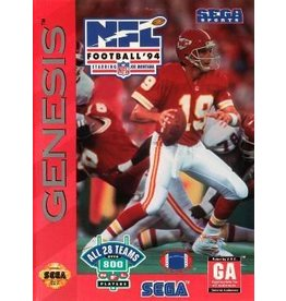 Sega Genesis NFL Football '94 Starring Joe Montana