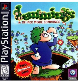 Playstation 1 Lemmings and Oh No More Lemmings