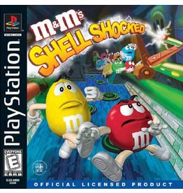 Playstation 1 M&M's Shell Shocked
