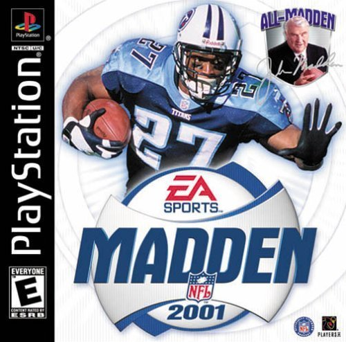 an analysis of the video game madden 2001 for the sony playstation 2
