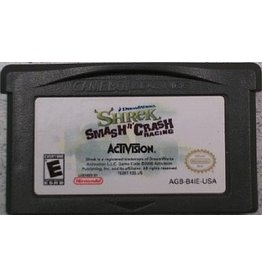 Nintendo Gameboy Advance Shrek Smash and Crash Racing