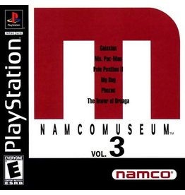 Playstation 1 Namco Museum Volume 3
