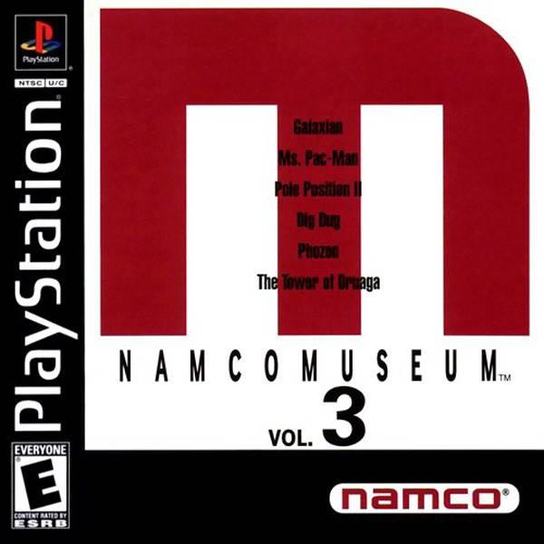Playstation 1 Namco Museum Volume 3