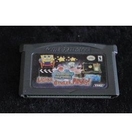 Gameboy Advance SpongeBob SquarePants Lights Camera Pants