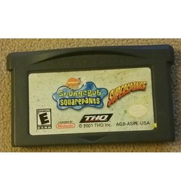 Gameboy Advance SpongeBob SquarePants Super Sponge