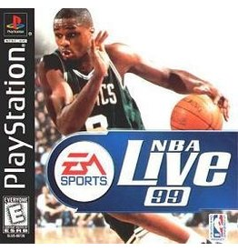 Sony Playstation 1 (PS1) NBA Live 99