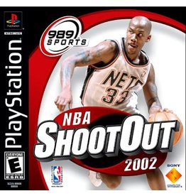Playstation 1 NBA ShootOut 2002