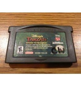 Gameboy Advance Tarzan Return to the Jungle